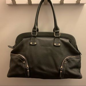 Leather Longchamp Bag